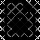 File Lock Documents File Icon