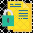 File Lock File Security Lock Icon