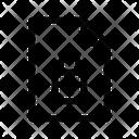 Document File Locked Icon