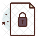File Locked Icon