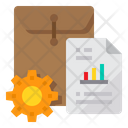 File Document Management Icon