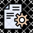 File Setting Development Icon
