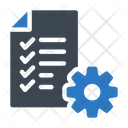 Checklist File Document Icon