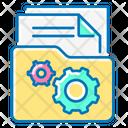 File Management File Folder Icon