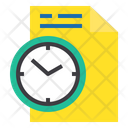 File Management Time File Icon