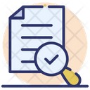 Evaluation Assessment File Review Icon