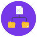 File Network Document Network Folder Network Icon