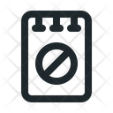 File Note Blocked Icon