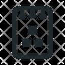 File Note Organization Icon