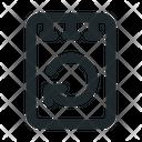 Note Reload File Icon