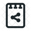 Note Share File Icon