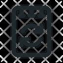 File Note Sync Icon