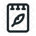 File Note Text Icon