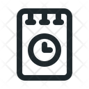 File Note Time Icon
