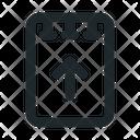 File Note Upload Icon