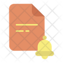 File Notification Icon
