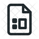 File Office Diagram Icon