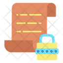 Password File File Password Document Password Icon
