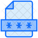 File Password Icon