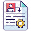 File Process File Configuration Document Processing Icon