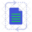 File Processing File Represantation File Recovery Icon