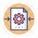 Mfile Processing File Processing Processing Details Icon