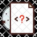 File Question Icon