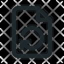 Reload File Document Icon