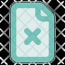 File Remove In Lc Document Close Icon
