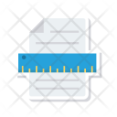File Ruler Drawing Icon
