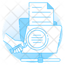 Discovery File Search File Review Icon