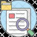 File Search Content Search Search Document Icon