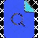 File Search Search File Search Document Icon