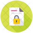 File Security Locked Icon
