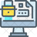 Web Security Secure Icon