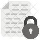 File Security Data Safety Folder Security Icon
