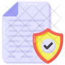 Verified Report File Security File Safety Icon