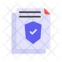 File Security Check File Security Document Security Icon