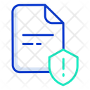 File Security Warning Icon
