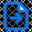 Send Transfer File Icon