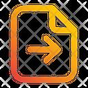 File Send Transfer Icon