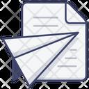 Document Send Message Icon