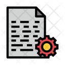 File Setting Development Icon