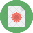 Processing File File Setting Gear Icon