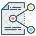 File Share Connections Media Icon