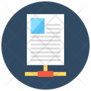 File Share Server Storage Shared Docs Icon