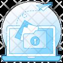 Data Repository Data Sharing Share Folder Icon