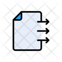 File Document Sharing Icon