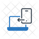 Filesharing Datatransfer Mobile Icon