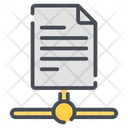 File Sharing Data Transfer Transfer Icon